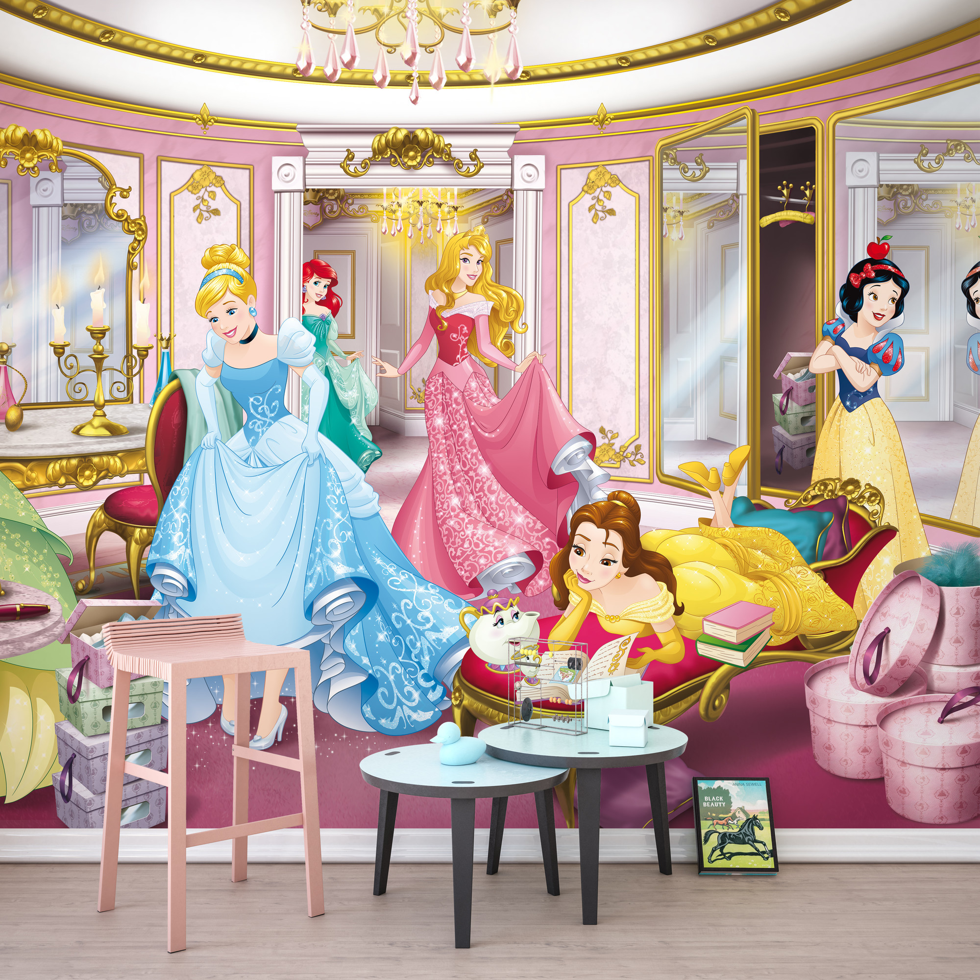Fototapete Disney Princess Mirror 8 4108 Von Komar Disney