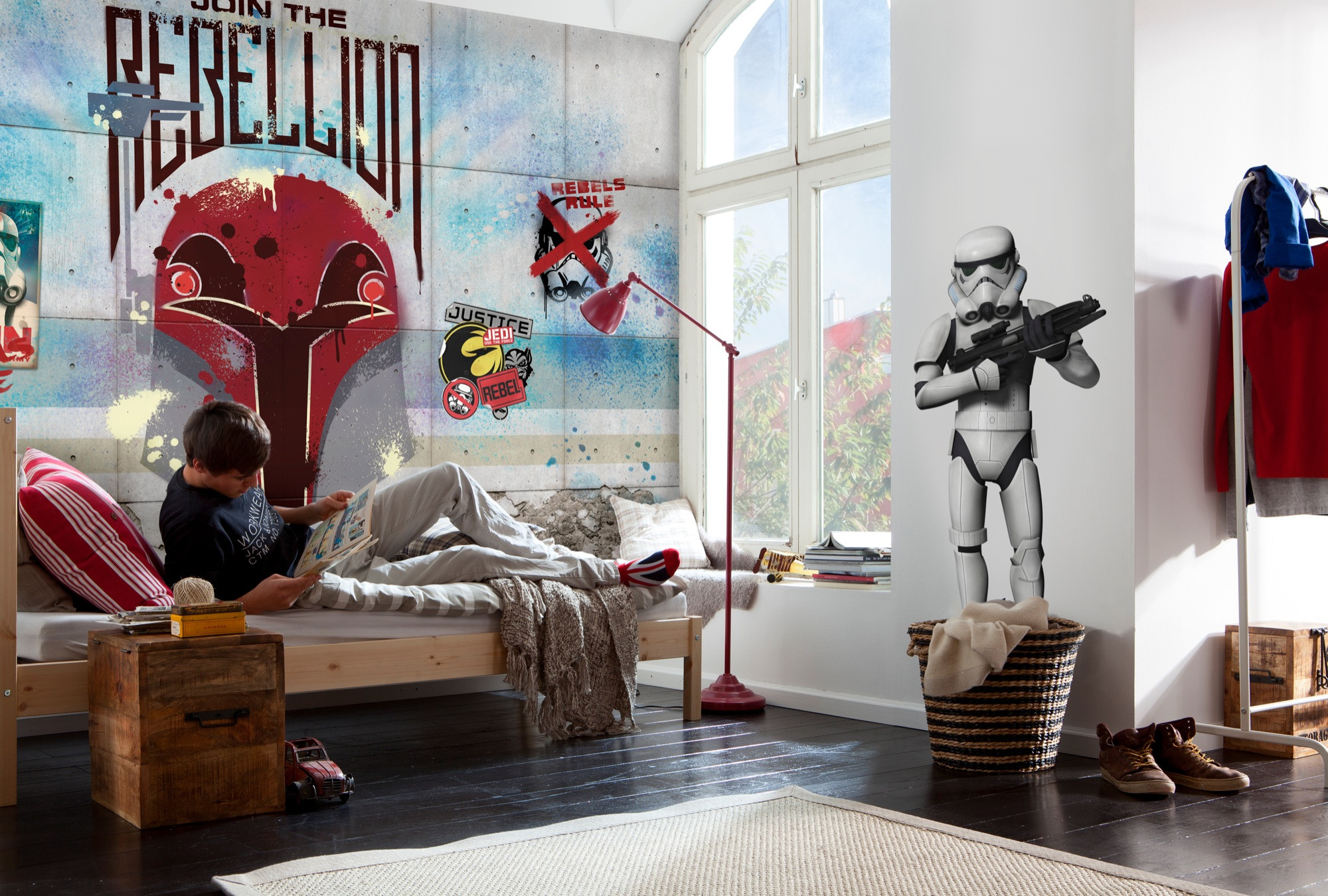 fototapete star wars rebels wall von komar disney star. Black Bedroom Furniture Sets. Home Design Ideas
