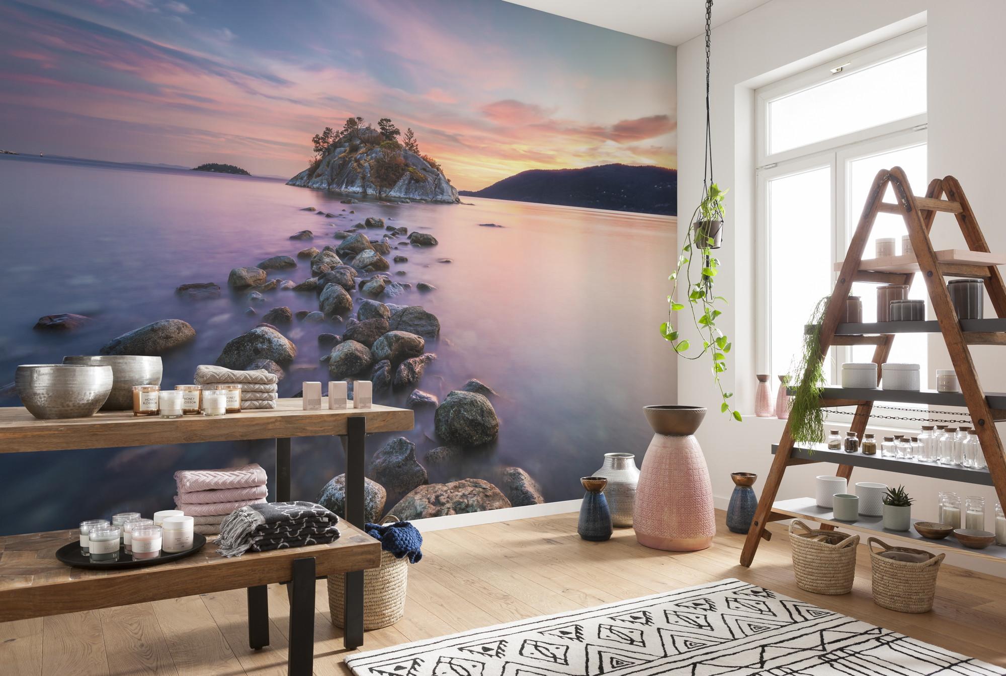fototapete whytecliff 8 534 von komar national. Black Bedroom Furniture Sets. Home Design Ideas