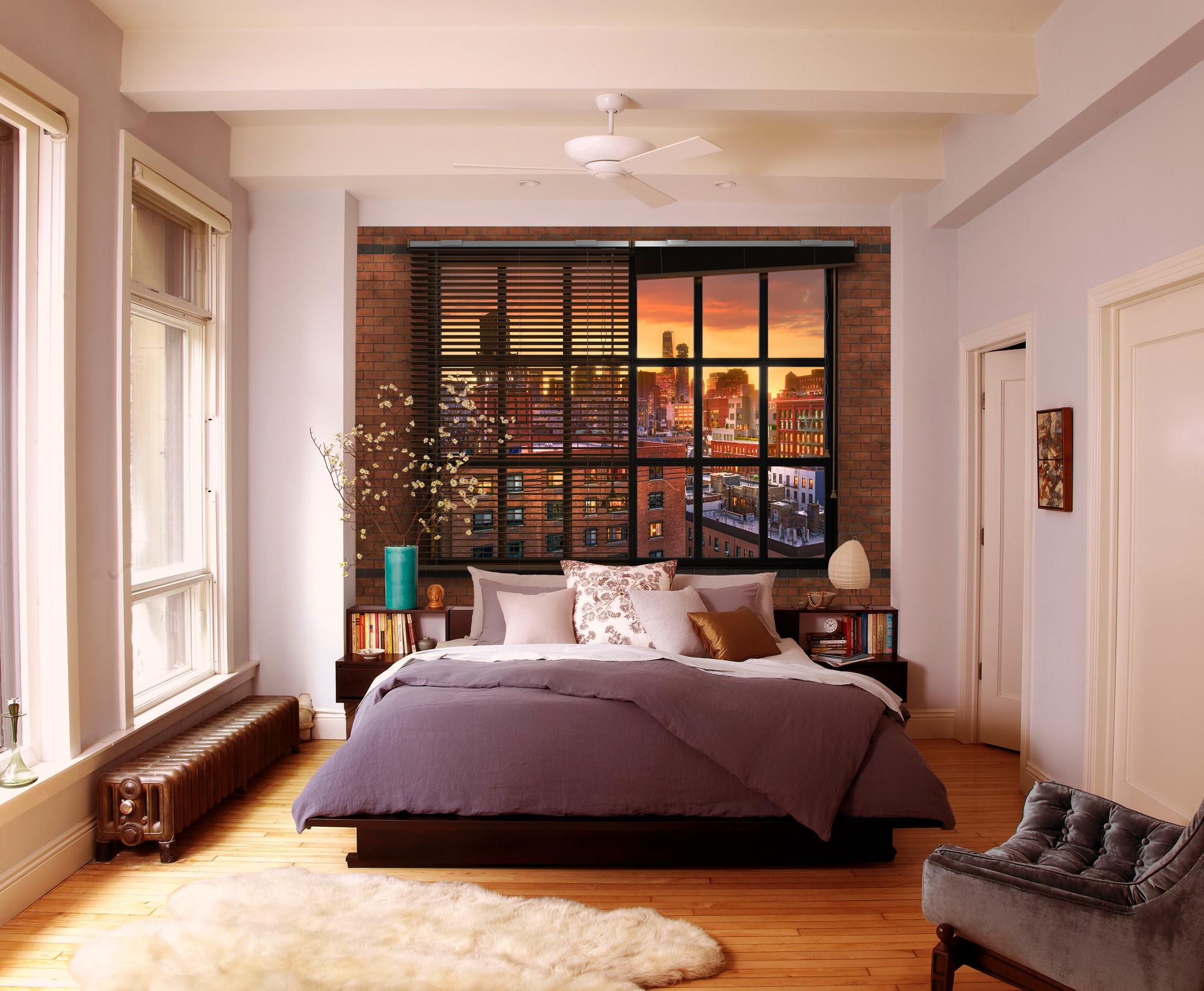"Fototapete ""Brooklyn Brick"" (8-882) von Komar"