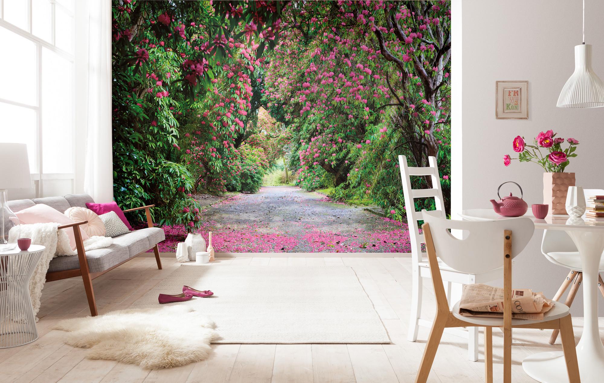 fototapete wicklow park von komar. Black Bedroom Furniture Sets. Home Design Ideas