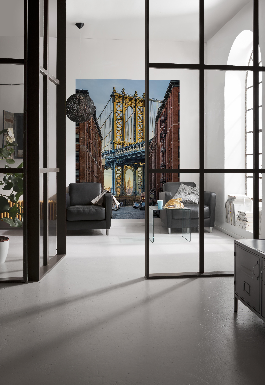 fototapete brooklyn von komar. Black Bedroom Furniture Sets. Home Design Ideas