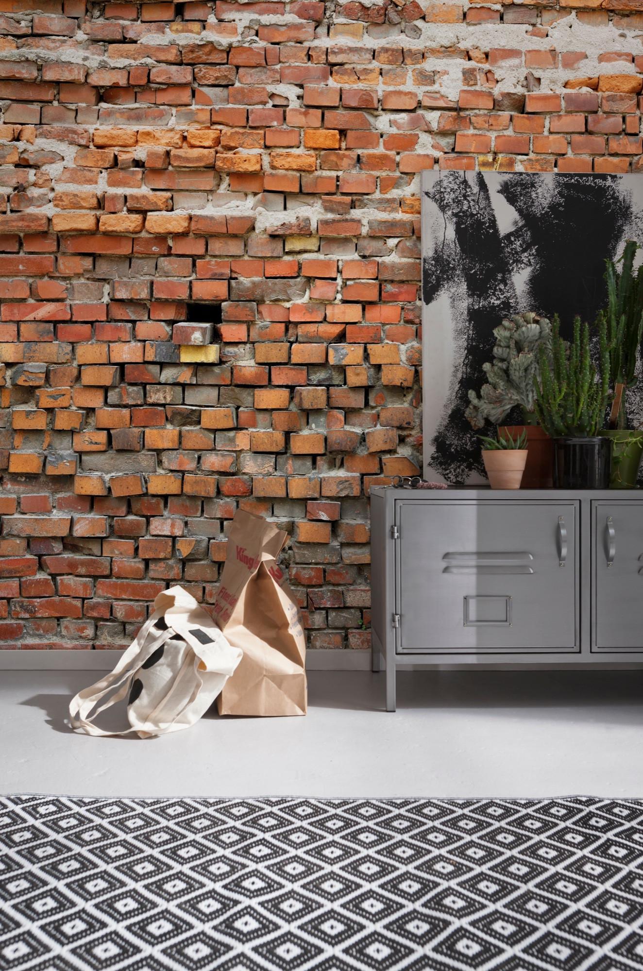 vliestapete bricklane xxl4 025 von komar. Black Bedroom Furniture Sets. Home Design Ideas