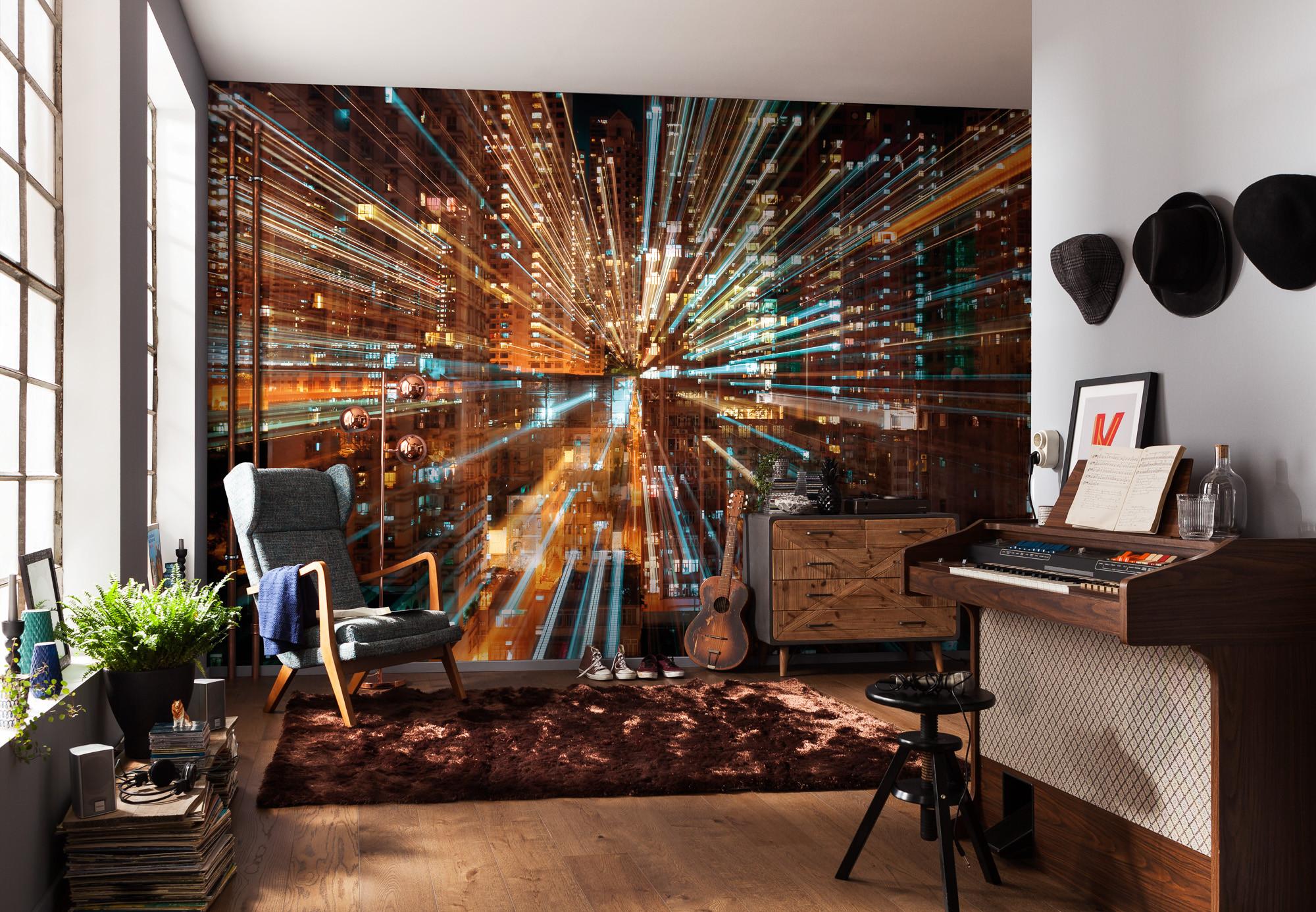 vliestapete fusion xxl4 037 von komar. Black Bedroom Furniture Sets. Home Design Ideas