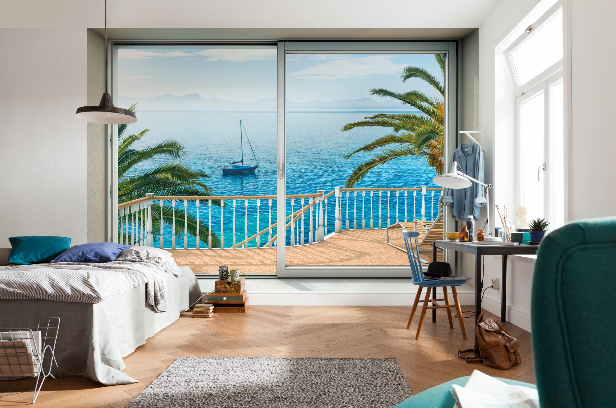 vliestapete tranquillo xxl4 050 von komar. Black Bedroom Furniture Sets. Home Design Ideas