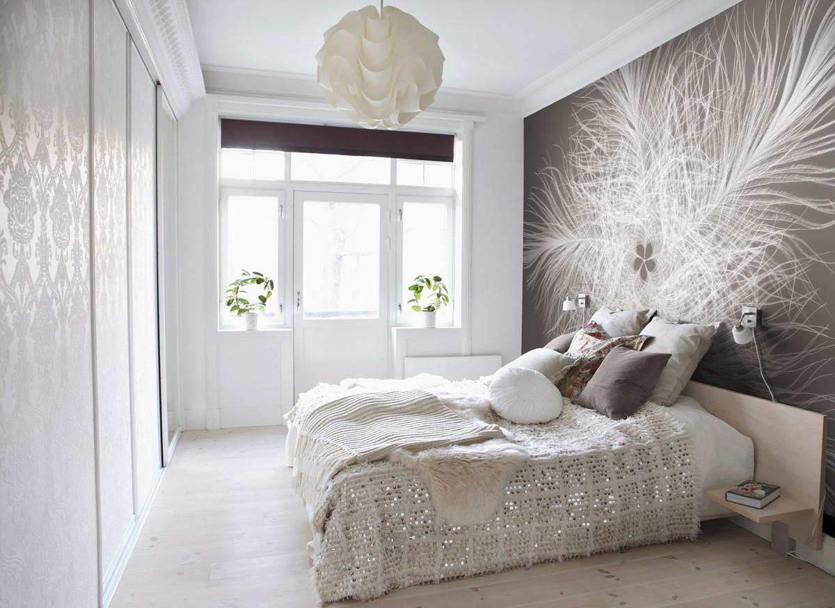 Hochwertig Designtapeten | Fototapete Schwarz Weiß | Fototapete Weiß | Fototapete Braun  | Fototapete Schlafzimmer