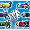 Avengers Plates