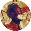 Avengers Painting Captain Marvel Helmet