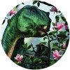 Iguanodon eating Flowers