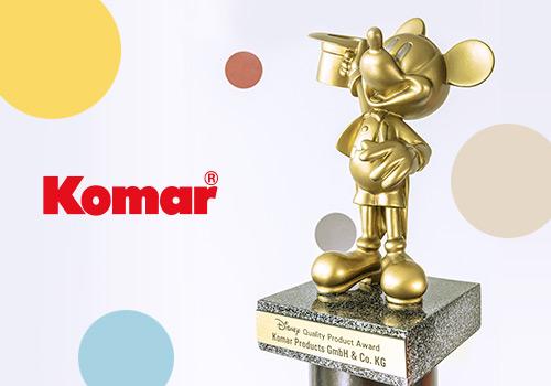 Komar bringt die magische Welt von Walt Disney in die Wohnzimmer
