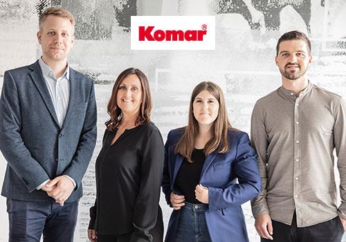 Neues Führungsteam in der Geschäftsleitung von Komar