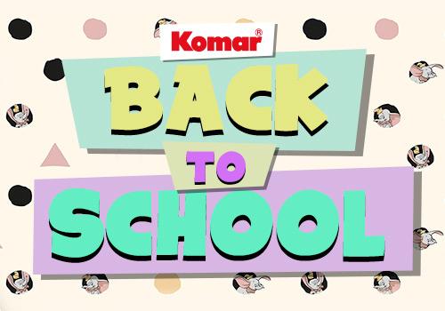 Back to School – Mit Komar wird der Schulstart zum Kinderspiel