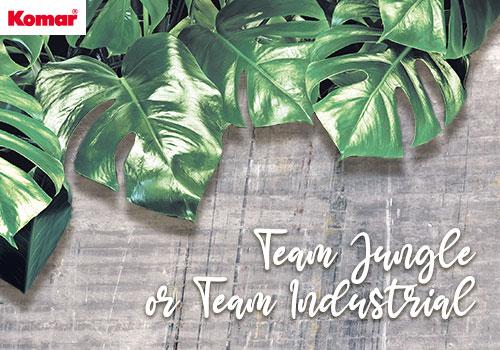 Team Jungle or Team Industrial