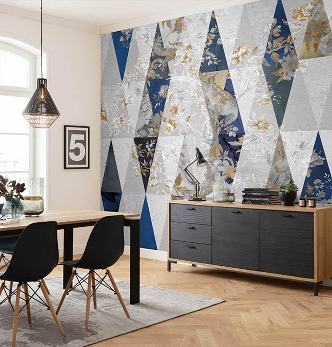 Abstrakte Fototapeten – Kunst für den Wohnraum