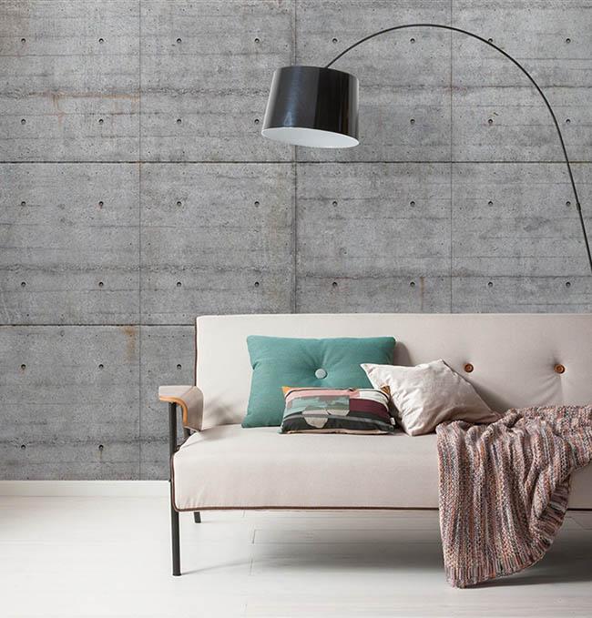 Tapete Betonoptik: Moderner Industrial Style fürs Zuhause