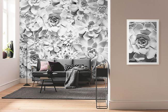 Florale Tapeten: Fantastische Blumen & Blüten fürs Zuhause