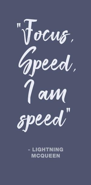 Focus speed i am speed