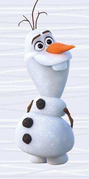 Komar Fototapete Disney Frozen 2 Olaf Wandbild Wanddekoration