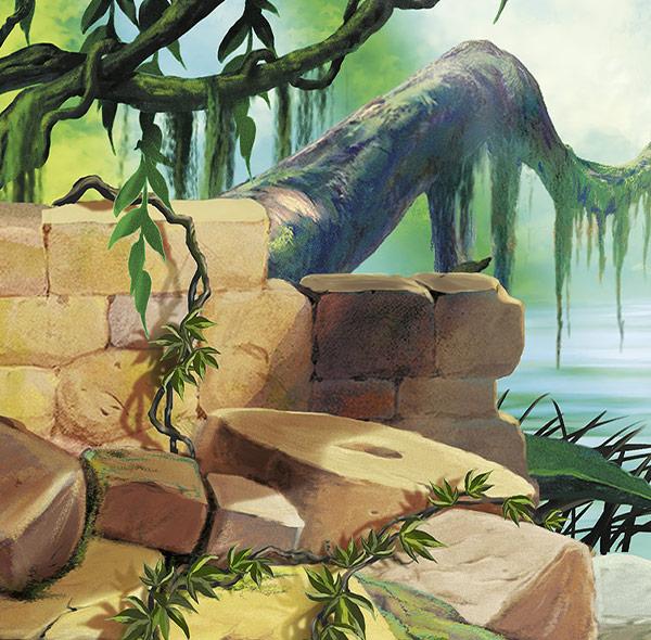 Komar Fototapete Disney das Dschungelbuch