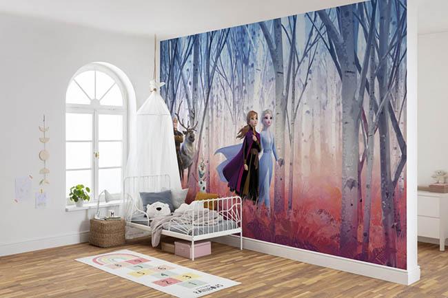 Frozen / Eiskönigin Tapeten – Für einen Tag Prinzessin sein