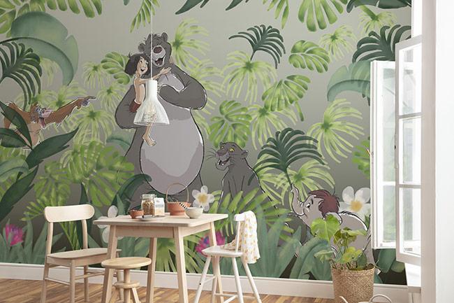 Dschungelbuch Fototapete - Stets mit Gemütlichkeit