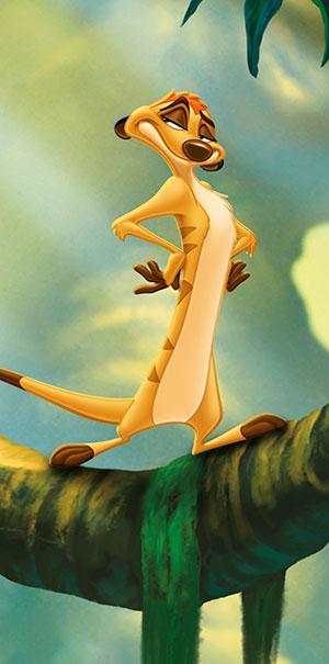 Komar Fototapete Disney der König der Löwen Timon