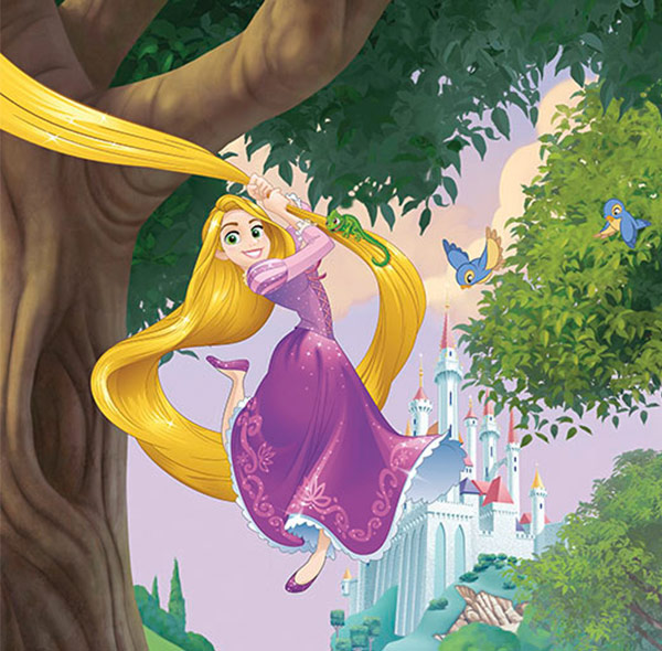 Komar Fototapete Disney Prinzessin Rapunzel
