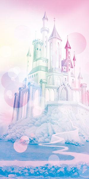 Komar Fototapete Disney Prinzessin Schloss