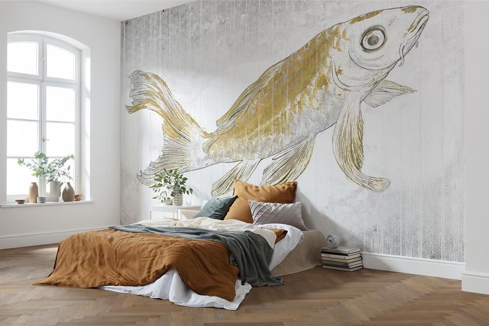 Goldene Fototapeten – Die ganz besondere Veredelung für die Wand