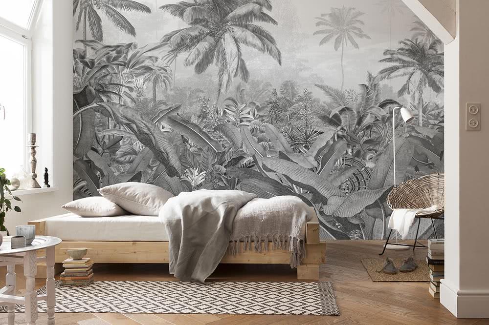 Fototapeten in Schwarz-Weiß – Die Farbkombination für den besonderen Sti