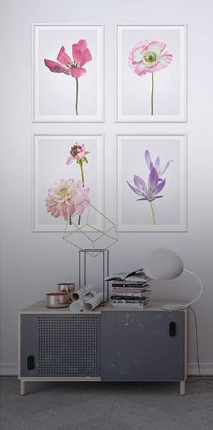 Zu den Blumen Wandbilder