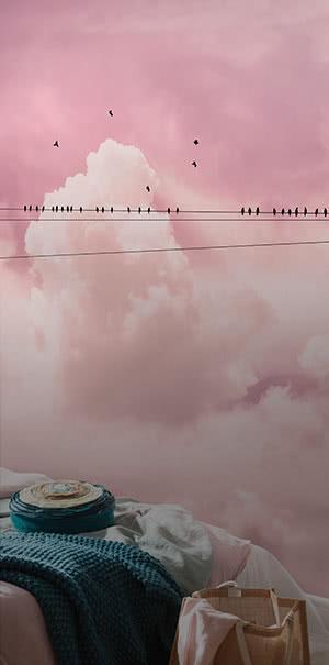Zu den Himmel & Wolken Fototapeten
