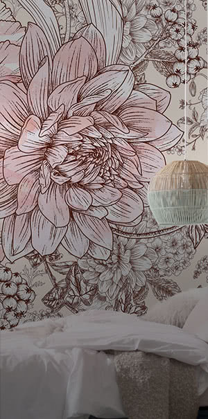 Zu den Collagen & Muster Fototapeten