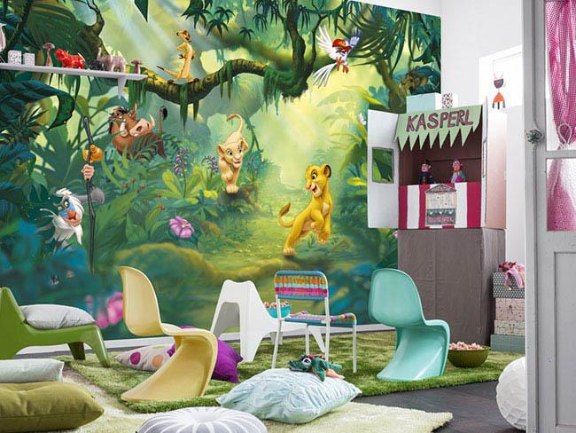 Disney Tapete – die magische Welt von Walt Disney direkt im eigenen Zuhause
