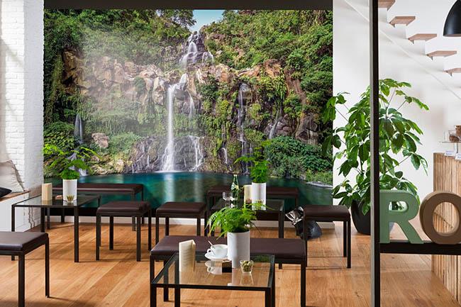 Wasserfall Fototapeten – von natürlich bis exotisch