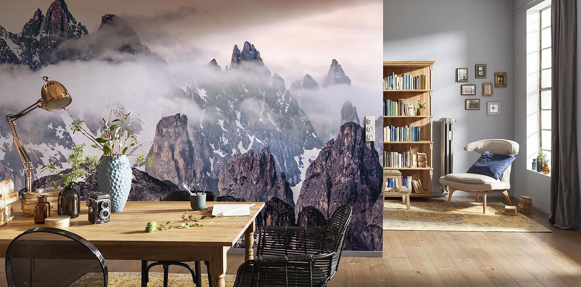 Fototapeten mit Landschaften: Faszinierende Aufnahmen der schönsten Orte fürs Zuhause