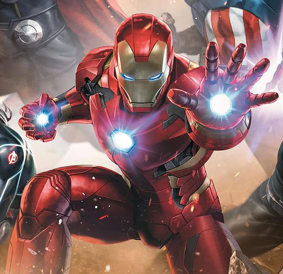 Iron Man Fototapete