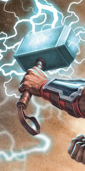 Thor Hammer Fototapeten
