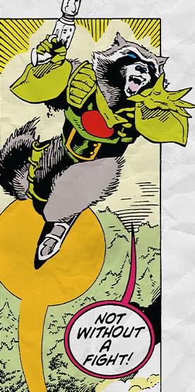 Rocket Raccoon Fototapeten