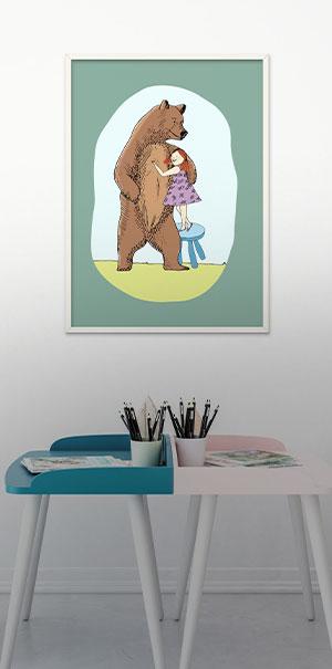 Zu den Kinder Wandbilder