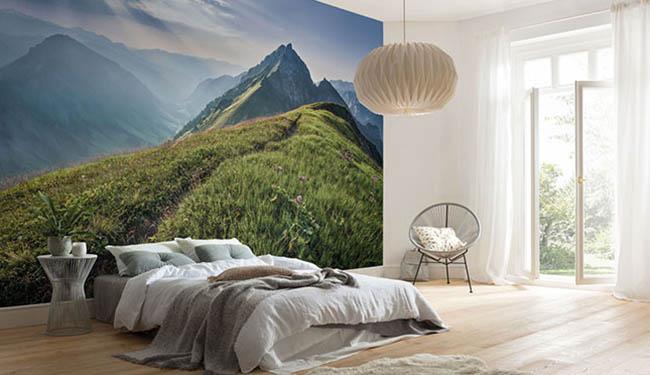 Fototapeten für das Schlafzimmer