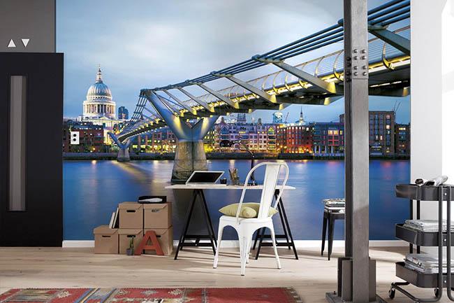 Fototapete London – die britische Lieblingsstadt für das eigene Zuhause