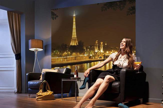 Paris Fototapeten – die Stadt der Liebe im eigenen Zuhause