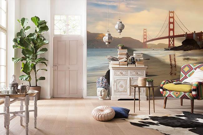 San Francisco Fototapeten – die weltberühmte Großstadt in den USA direkt im eigenen Zuhause