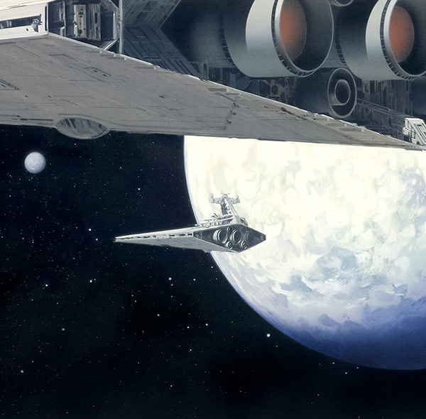 Komar Fototapete Star Wars Weltraum Raumschiff