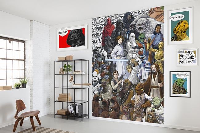 Comic Fototapete - Für echte Wandkultur