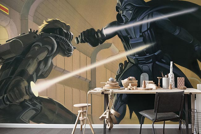 Darth Vader Fototapete und die Macht ist mit Dir