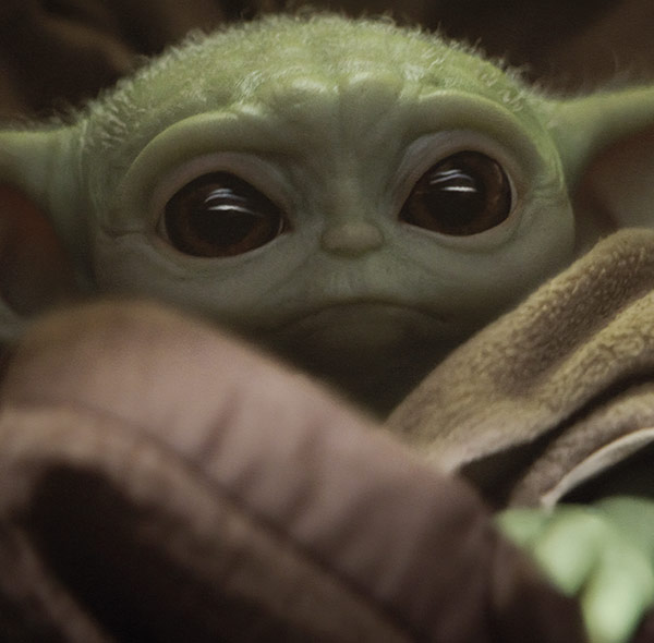 Komar Fototapete Star Wars the mandalorian baby yoda