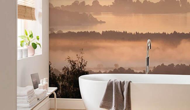 Fototapeten für das Badezimmer
