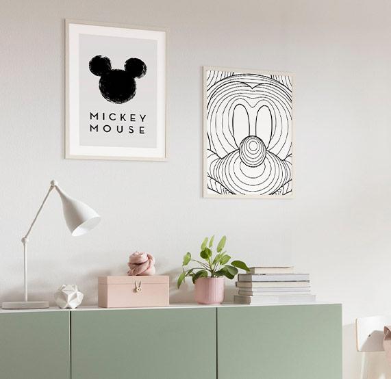 Micky Wandbilder Interieur